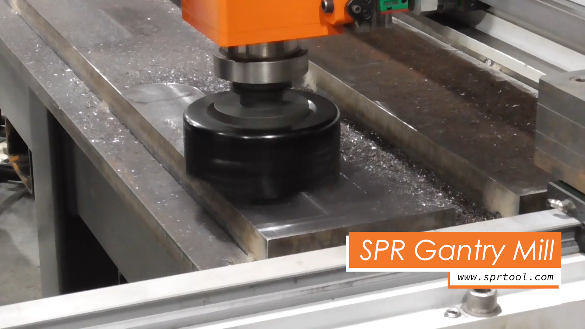 SPR's Portable Gantry Mill - Endless Possibilities