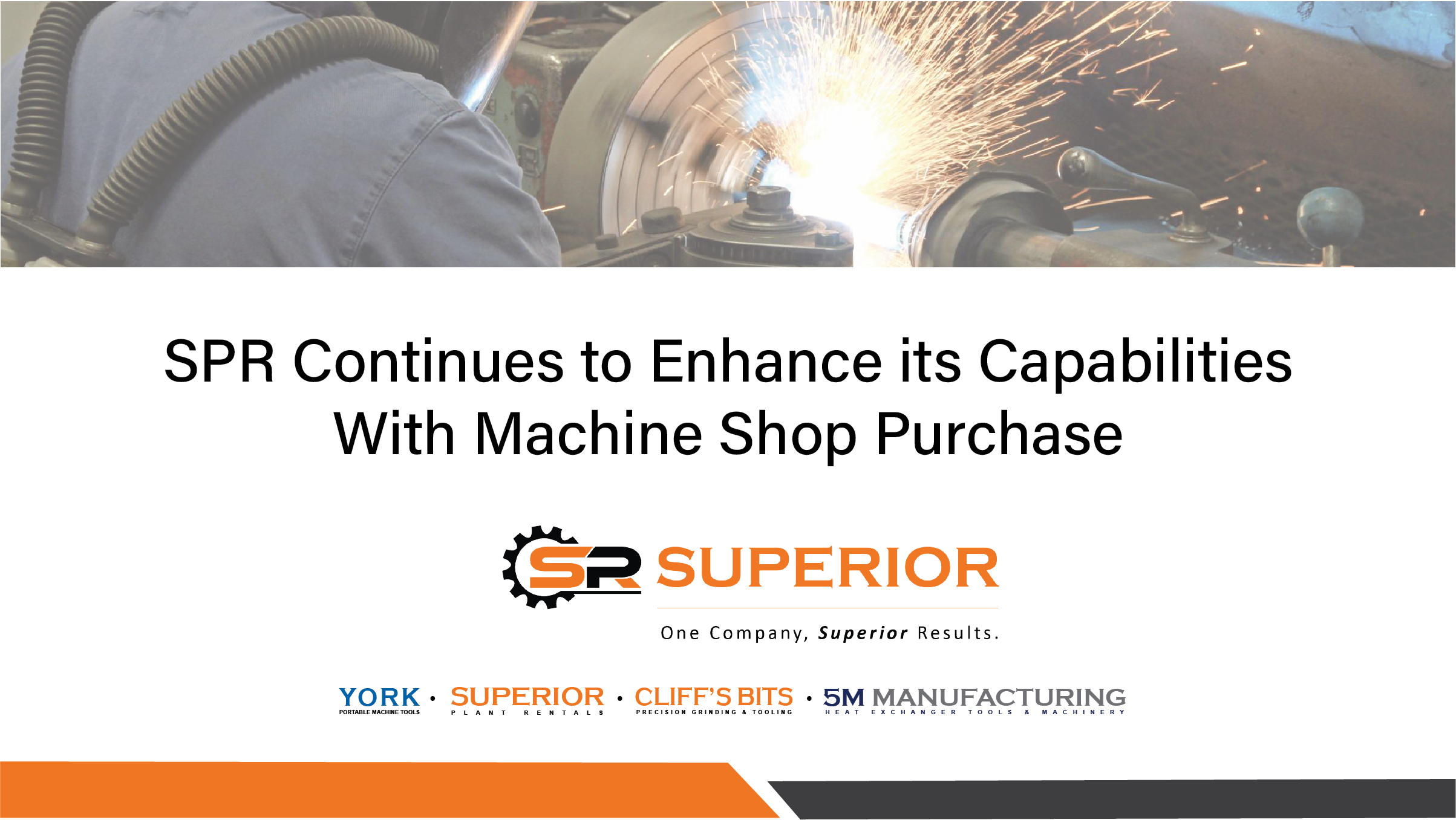 SPR Enhances Capabilities with Machine Shop Purchase